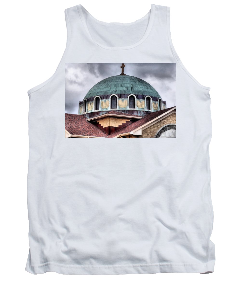 Dayton Mosque Tank Top featuring the photograph Dayton Mosque by Dan Sproul