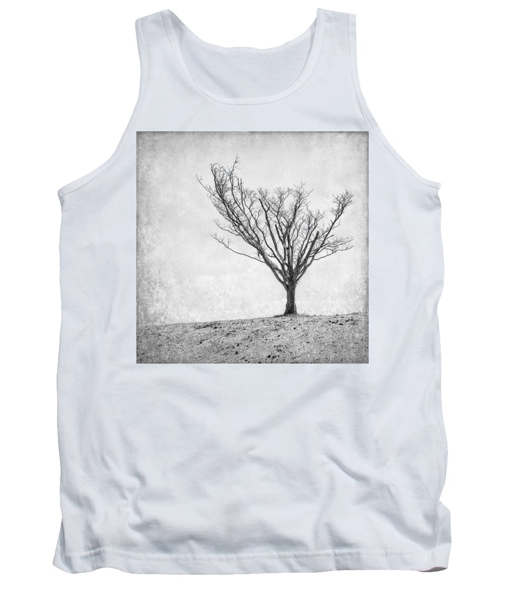 Landscape Photography Tank Top featuring the photograph Desperate Reach by Scott Norris
