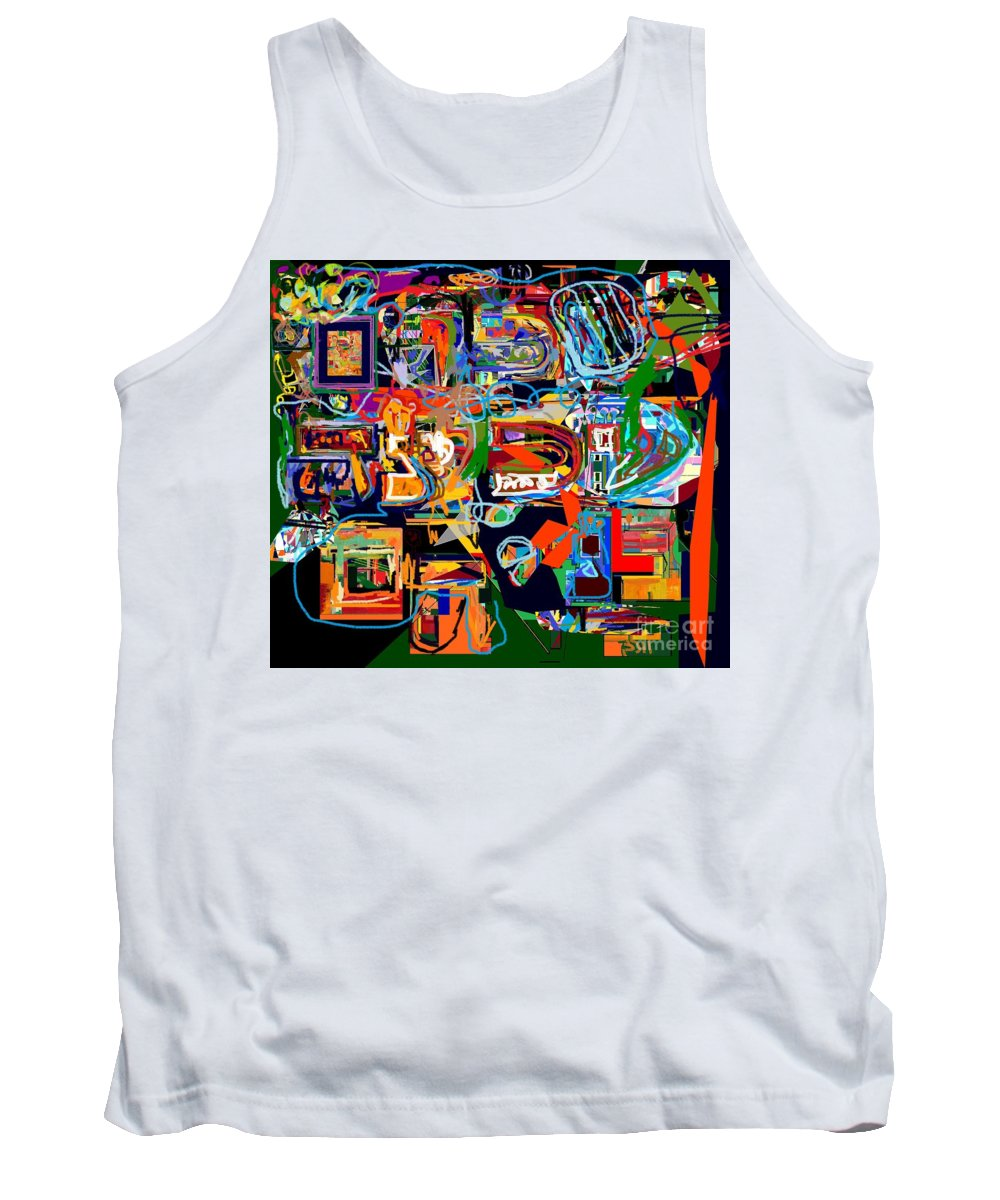 Torah Tank Top featuring the photograph Divinely Blessed Marital Harmony 27 by David Baruch Wolk