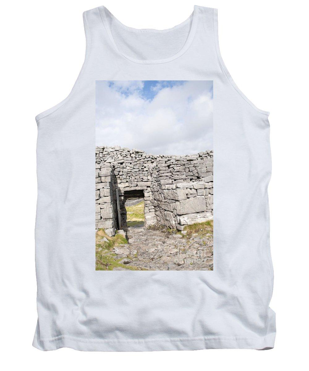 Ireland Digital Photography Tank Top featuring the digital art Don Angus by Danielle Summa