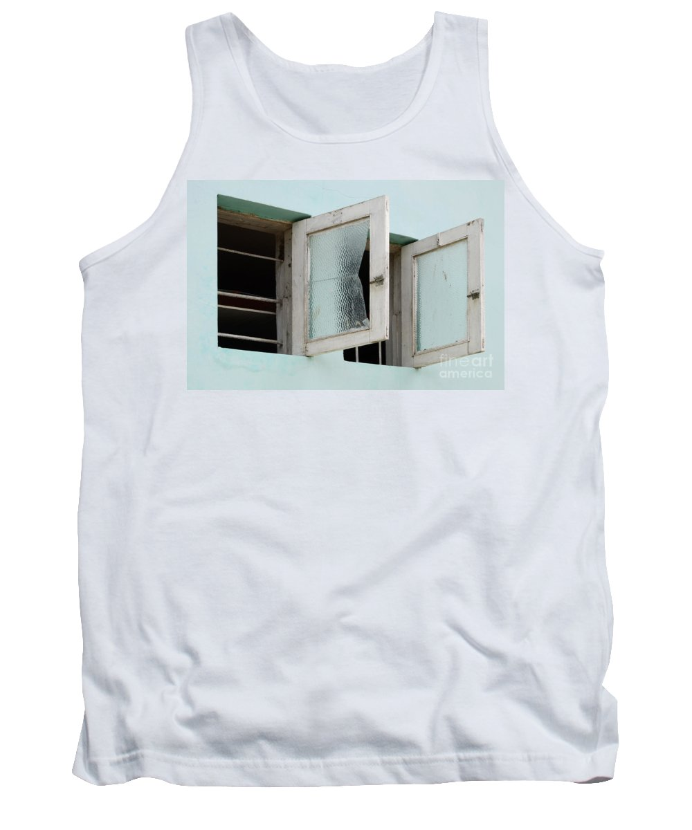 Door Tank Top featuring the photograph Doors And Windows Lencois Brazil 5 by Bob Christopher
