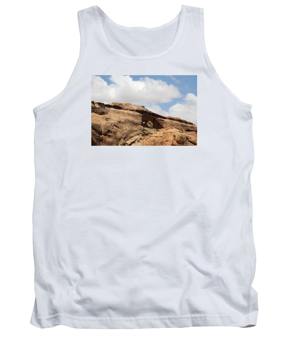 Window Tank Top featuring the photograph Double O Arch View by Christiane Schulze Art And Photography