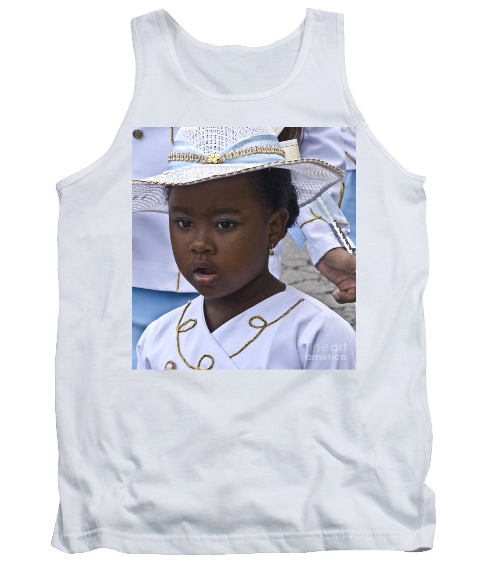 Heiko Tank Top featuring the photograph Dressed For The Parade by Heiko Koehrer-Wagner