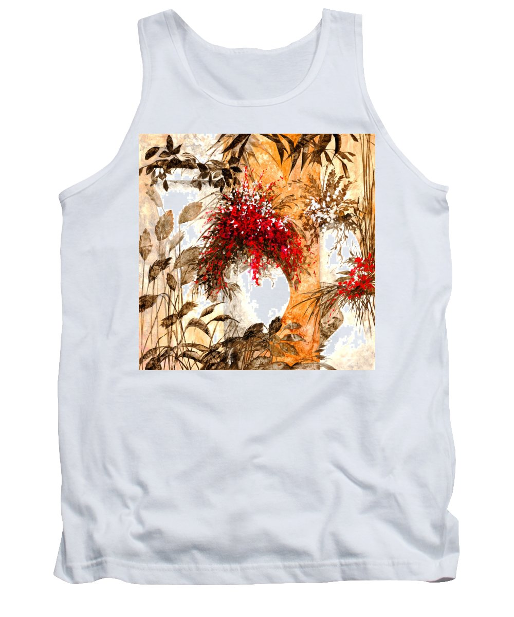 White Tank Top featuring the painting Due Bianca by Guido Borelli