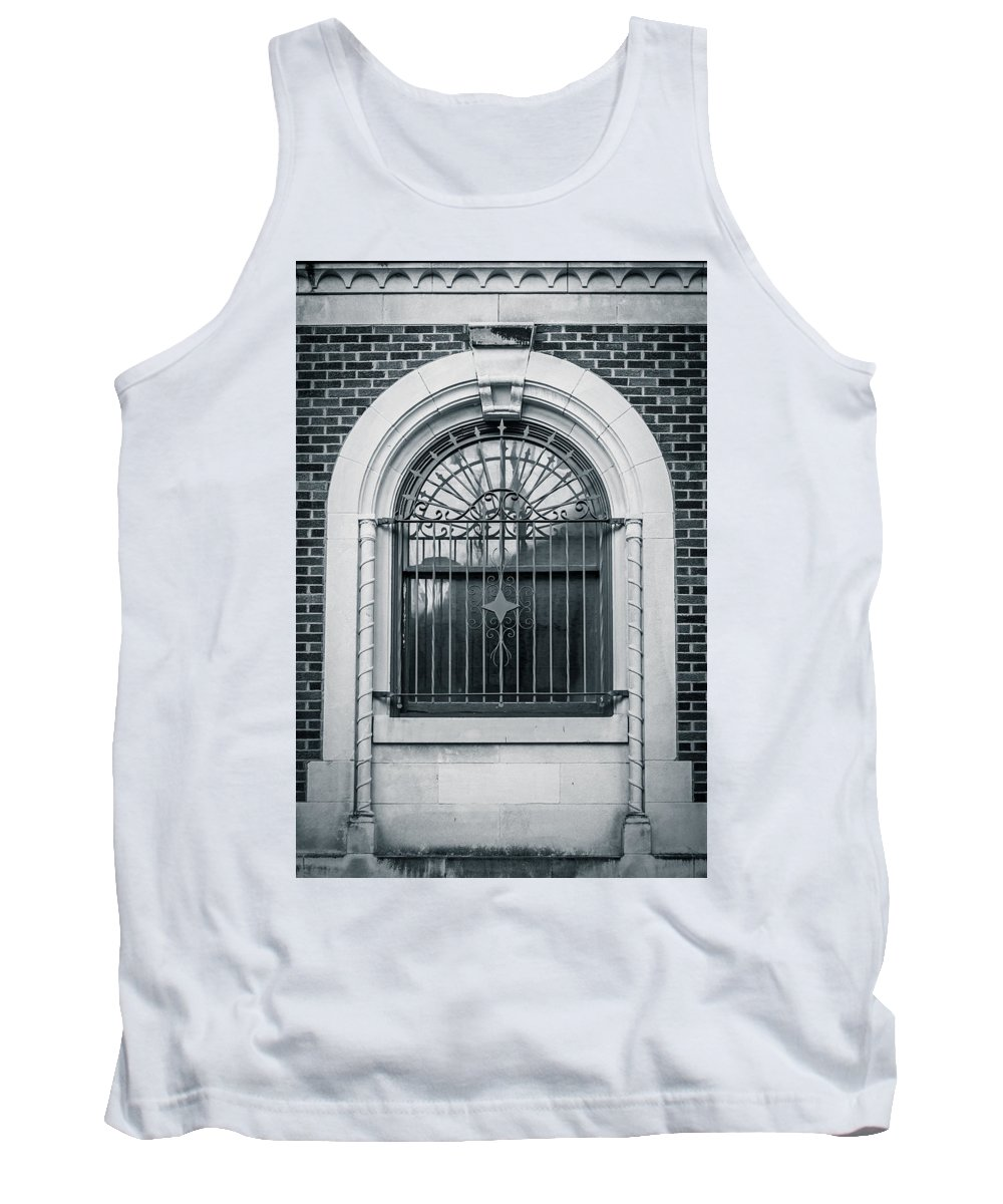Architecture Tank Top featuring the photograph Dwyer Street Window 2 by Melinda Ledsome