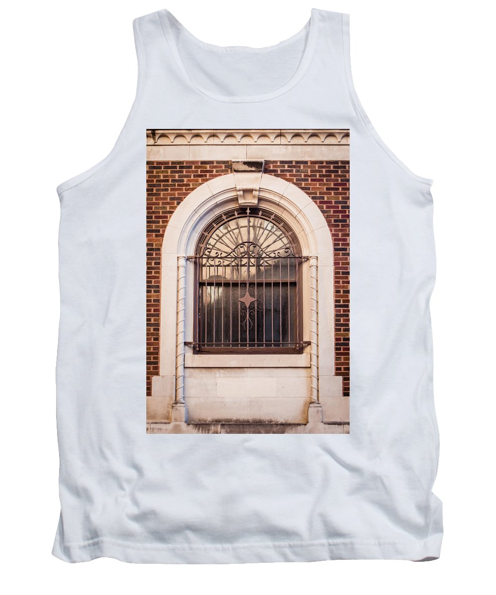 Architecture Tank Top featuring the photograph Dwyer Street Window by Melinda Ledsome