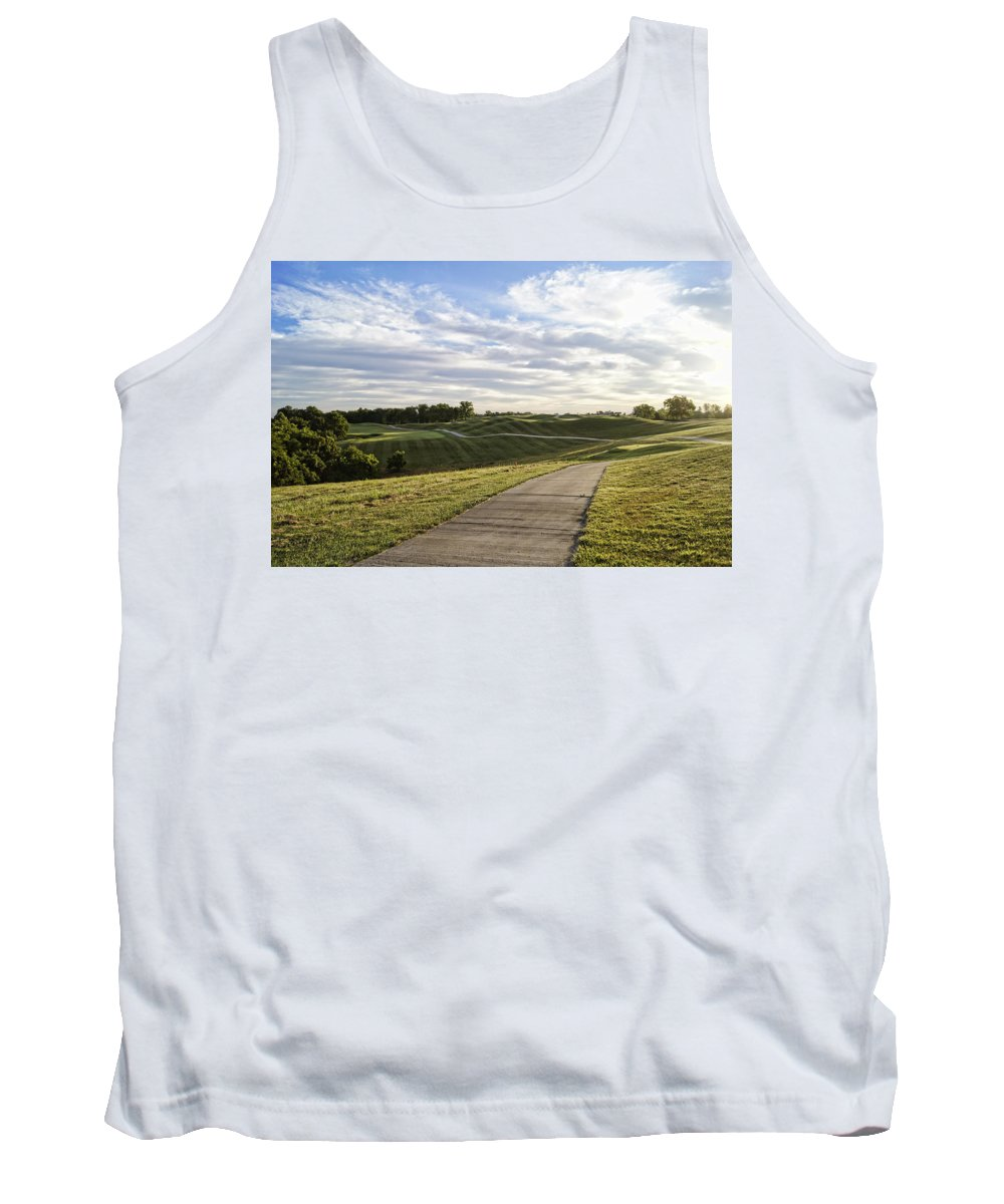 Golf Tank Top featuring the photograph Eagle Knoll Golf Club - Hole Four by Cricket Hackmann
