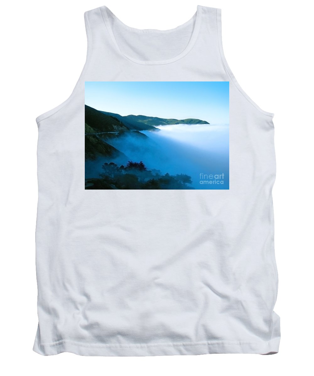 Coast Tank Top featuring the photograph Early Morning Coastline by Ellen Cotton