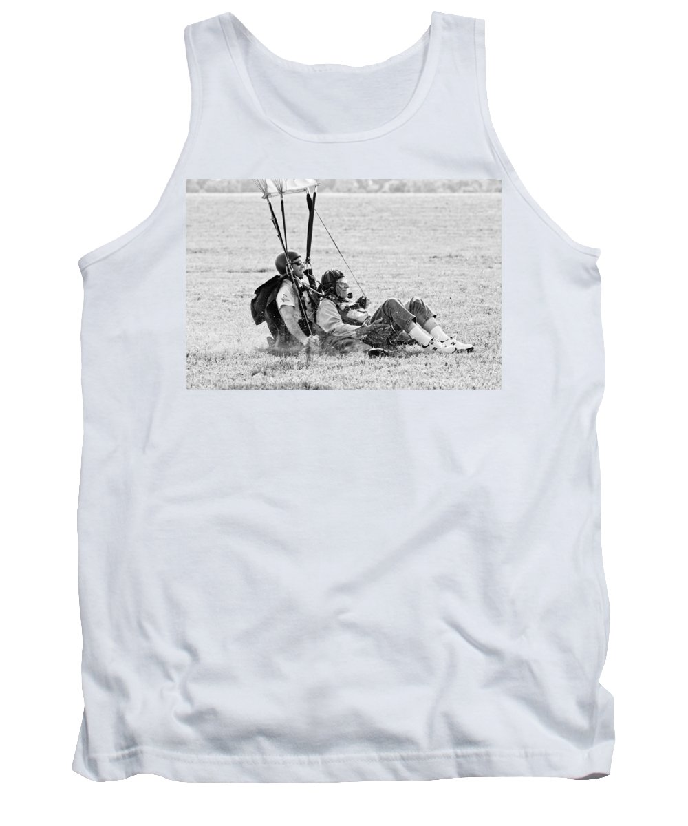 Dad Tank Top featuring the photograph Easy Does It by Cindy Archbell