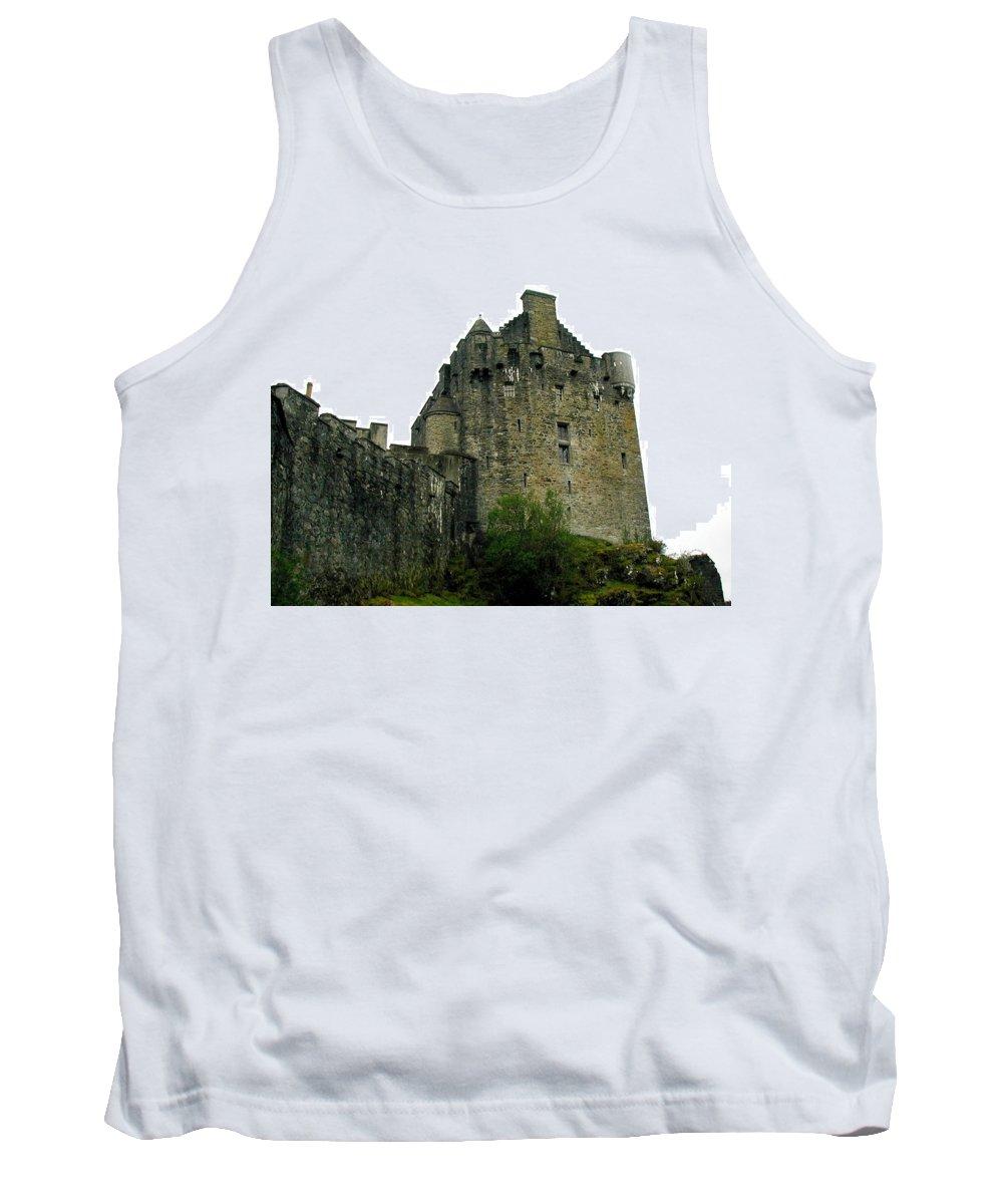 Eilean Donan Tank Top featuring the photograph Eilean Donan Castle by Camm Kirk