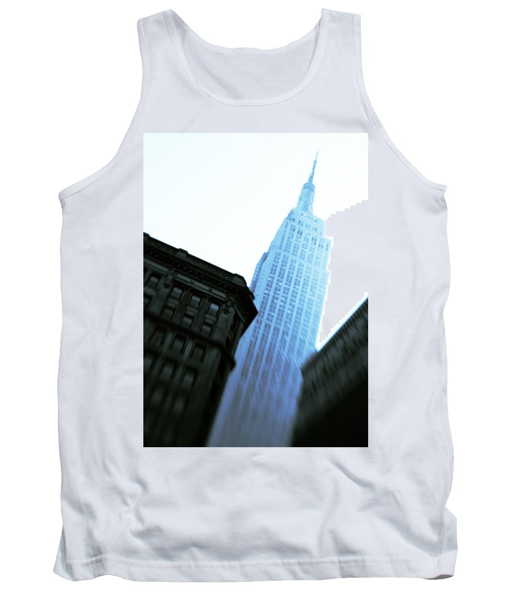 Empire State Building Tank Top featuring the photograph Empire State Building by Dave Bowman