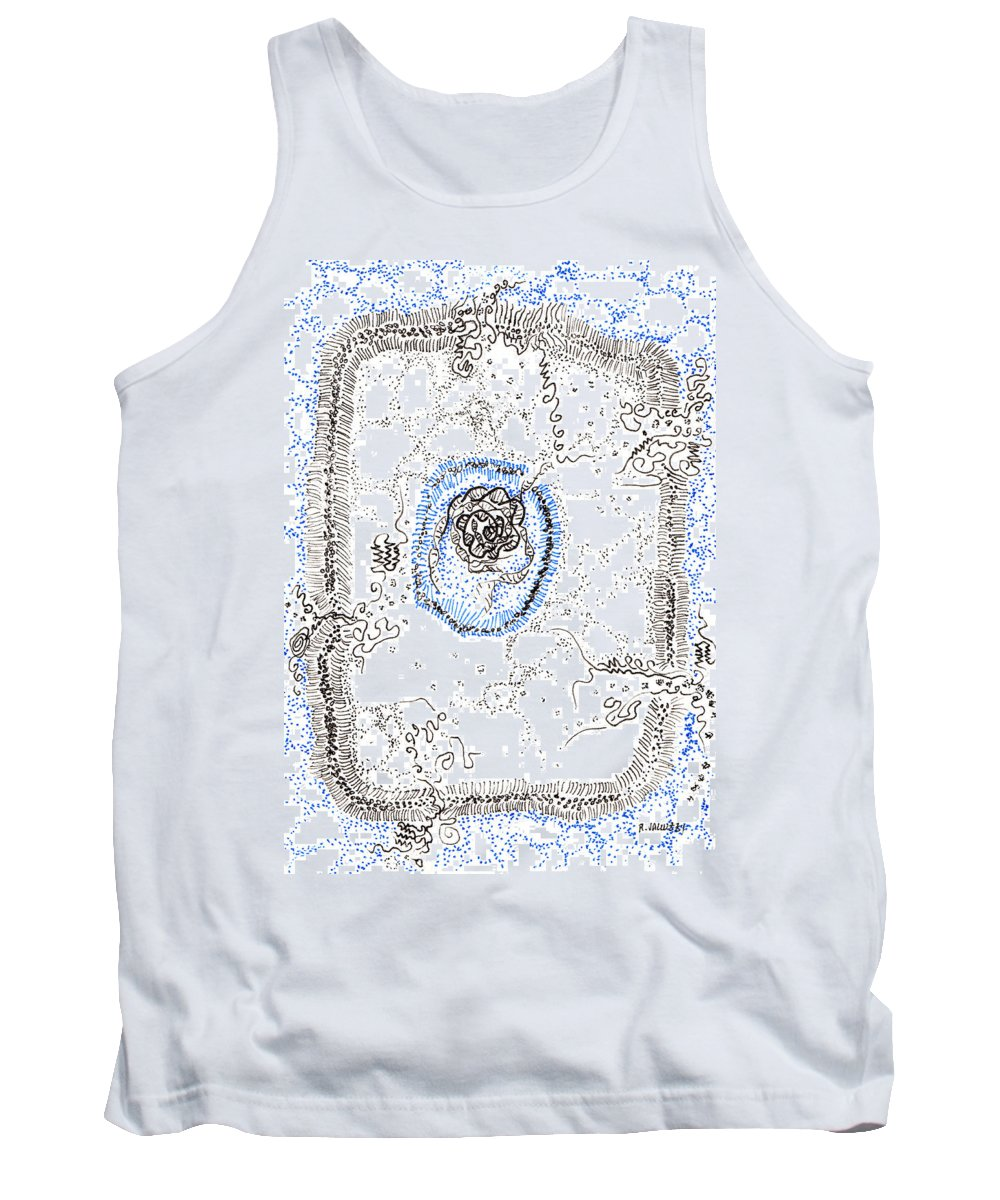 Transmembrane Protein Paintings Tank Tops
