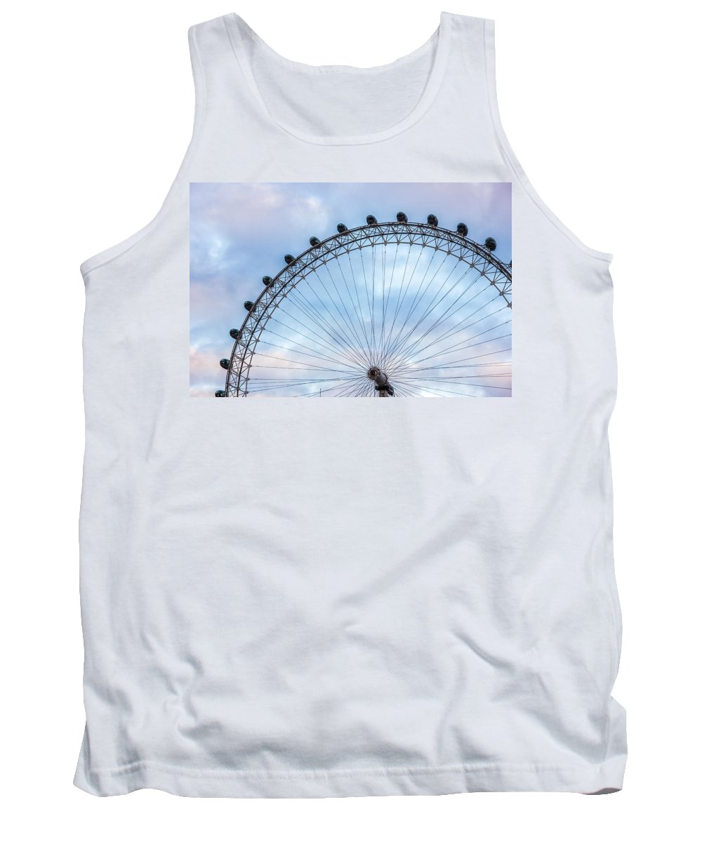 London Tank Top featuring the photograph Eye In The Sky by Pati Photography