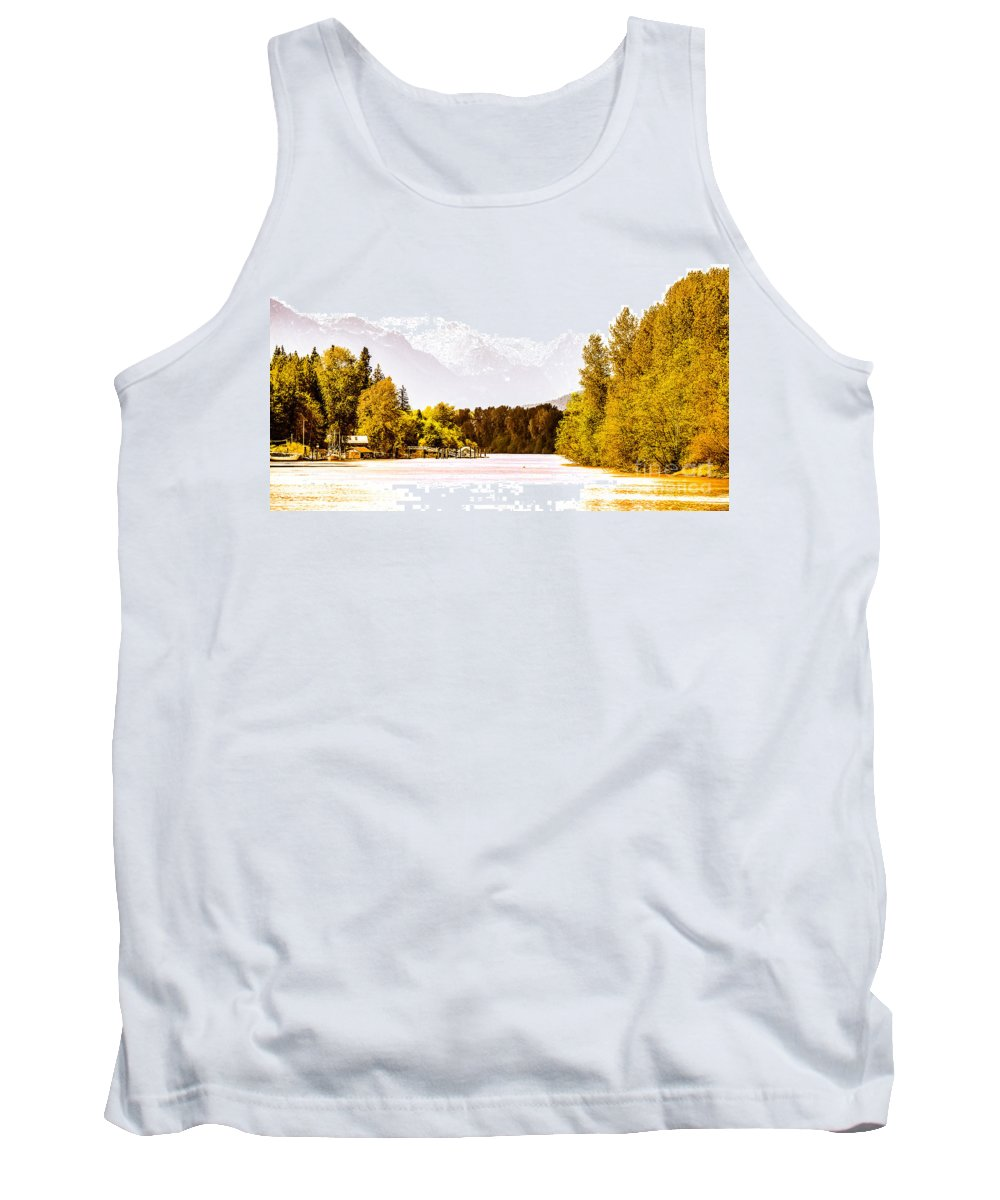 Digtial Colour Tank Top featuring the photograph F00445-10jpg by David Fabian