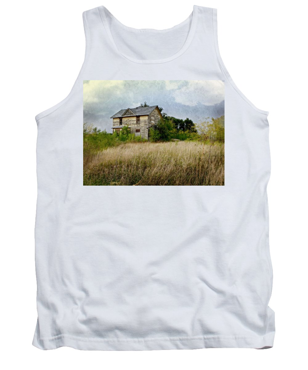 House Tank Top featuring the photograph Fading Away by John Anderson