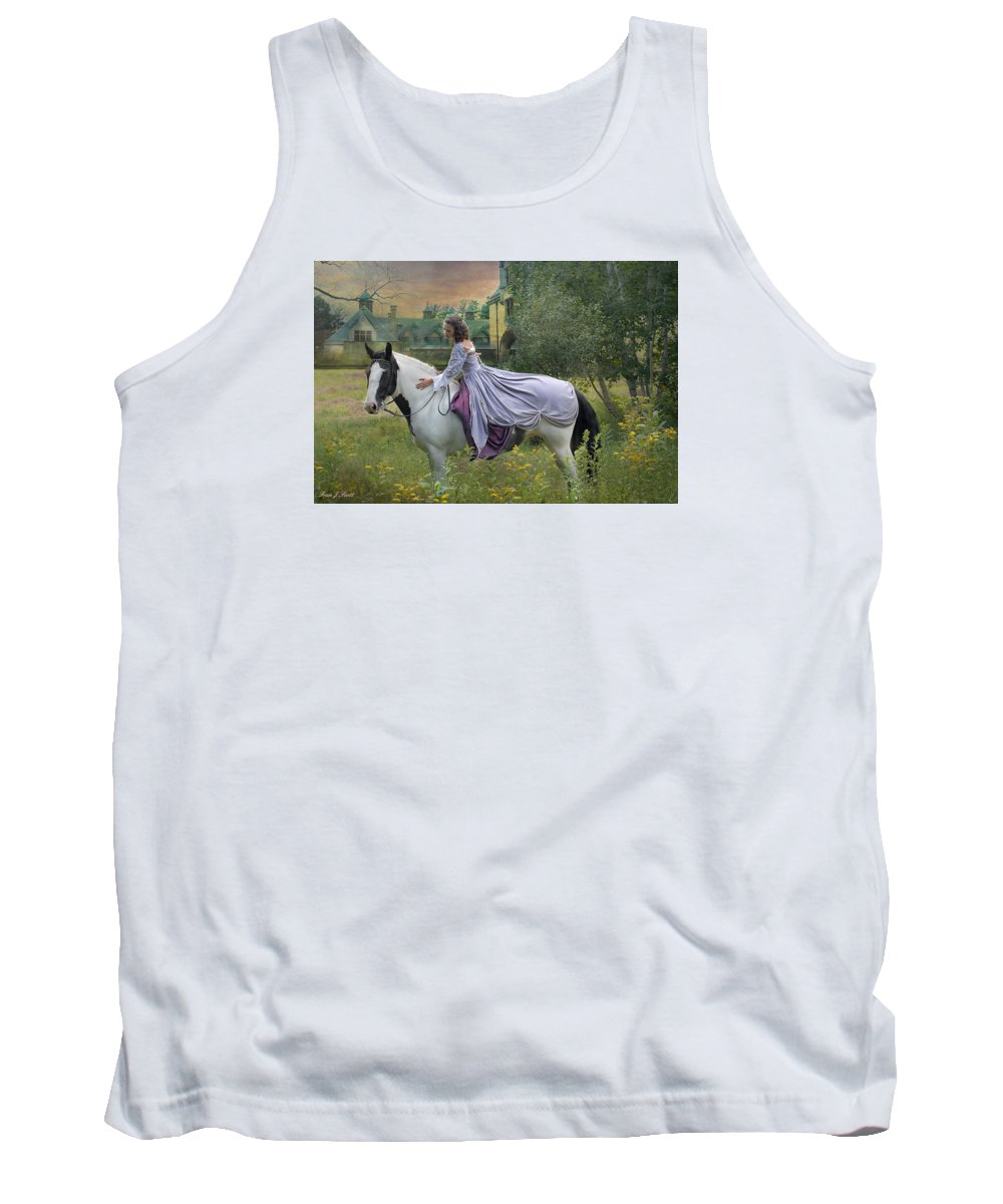 Horses Tank Top featuring the photograph Faerie Tales by Fran J Scott