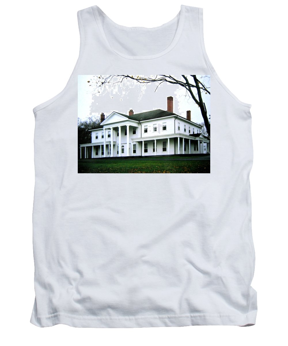 Fanningbank Tank Top featuring the photograph Fanningbank by Will Borden