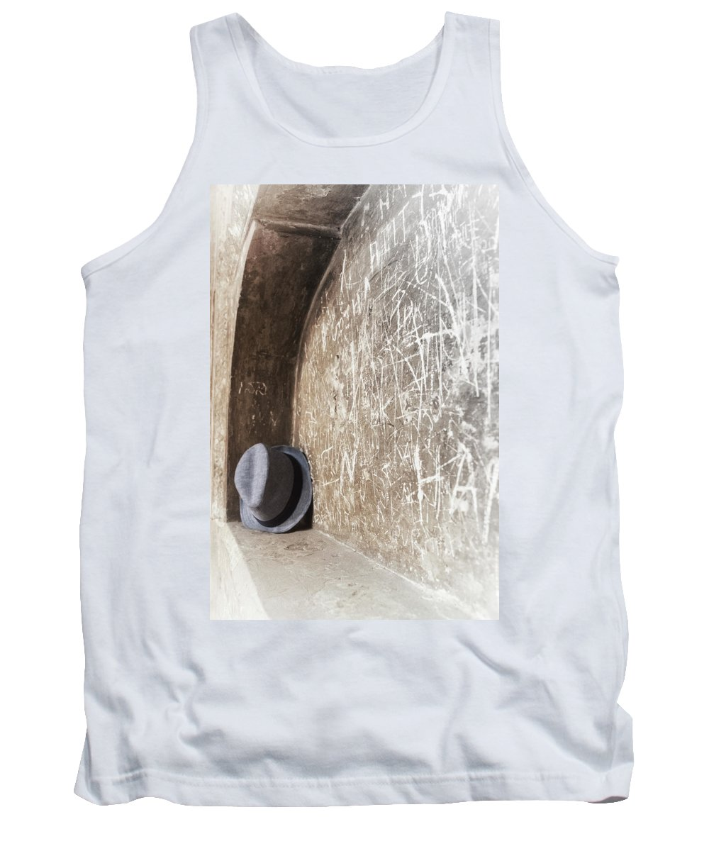 India Tank Top featuring the photograph Fedora by Scott Wyatt