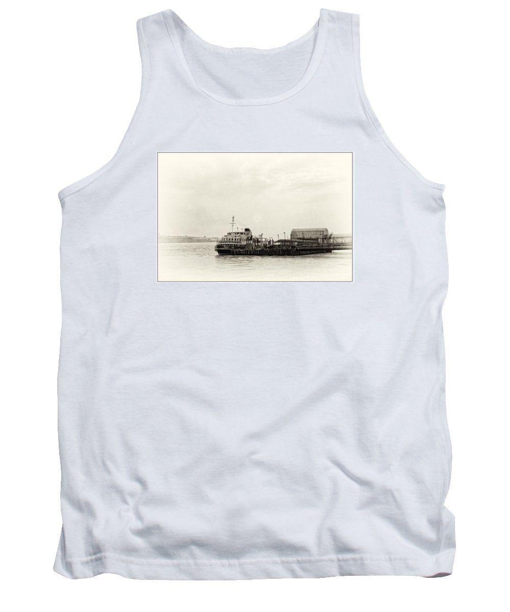 Liverpool Museum Tank Top featuring the photograph Ferry At The Terminal by Spikey Mouse Photography