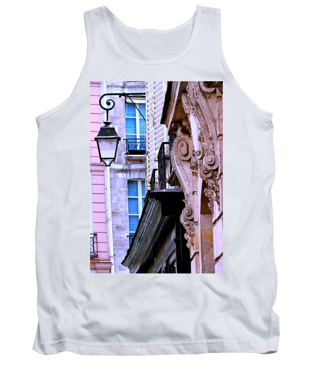 Paris Tank Top featuring the photograph First Light by Ira Shander