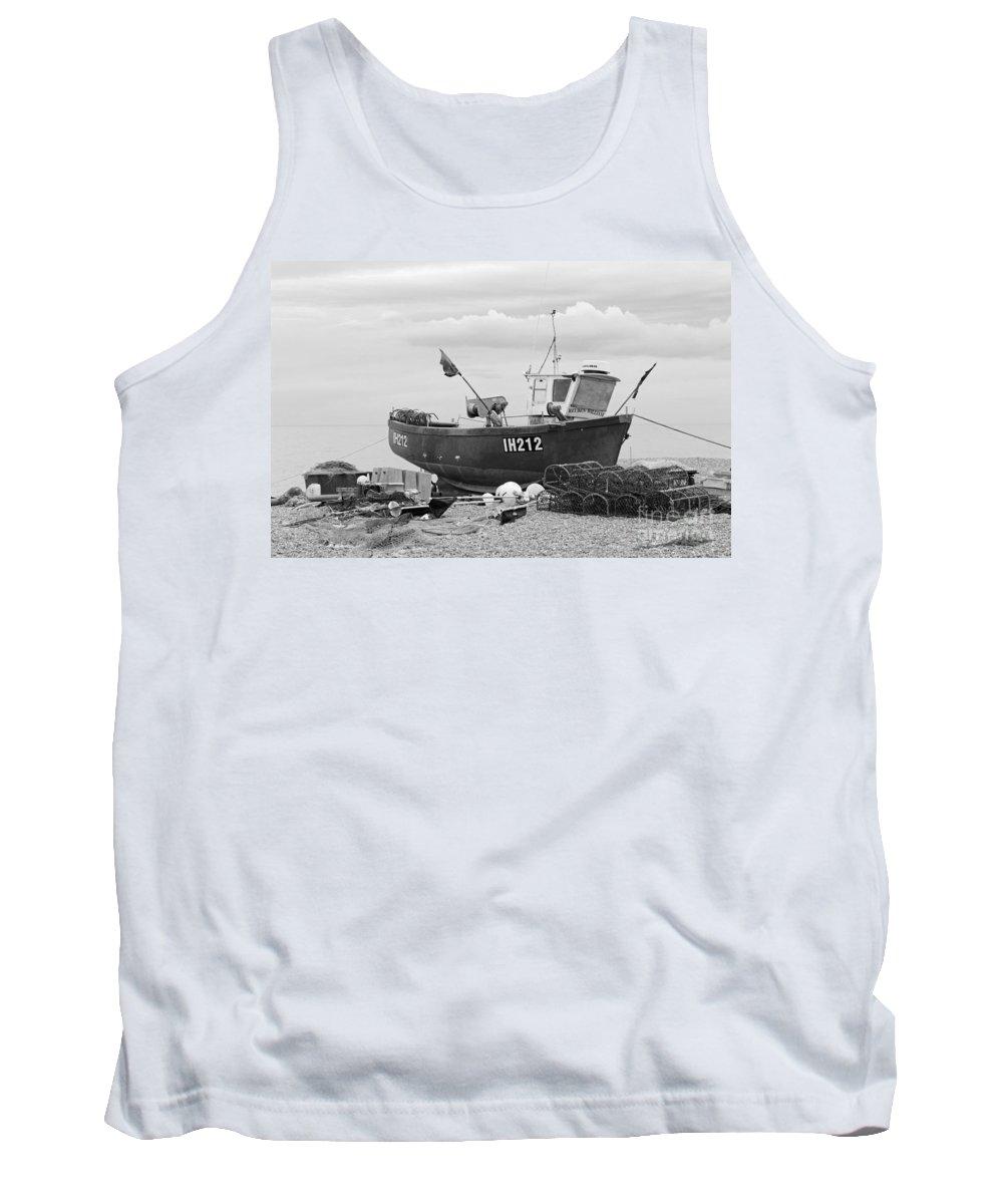 Fishing Boat Tank Top featuring the photograph Fishing Boat by Julia Gavin