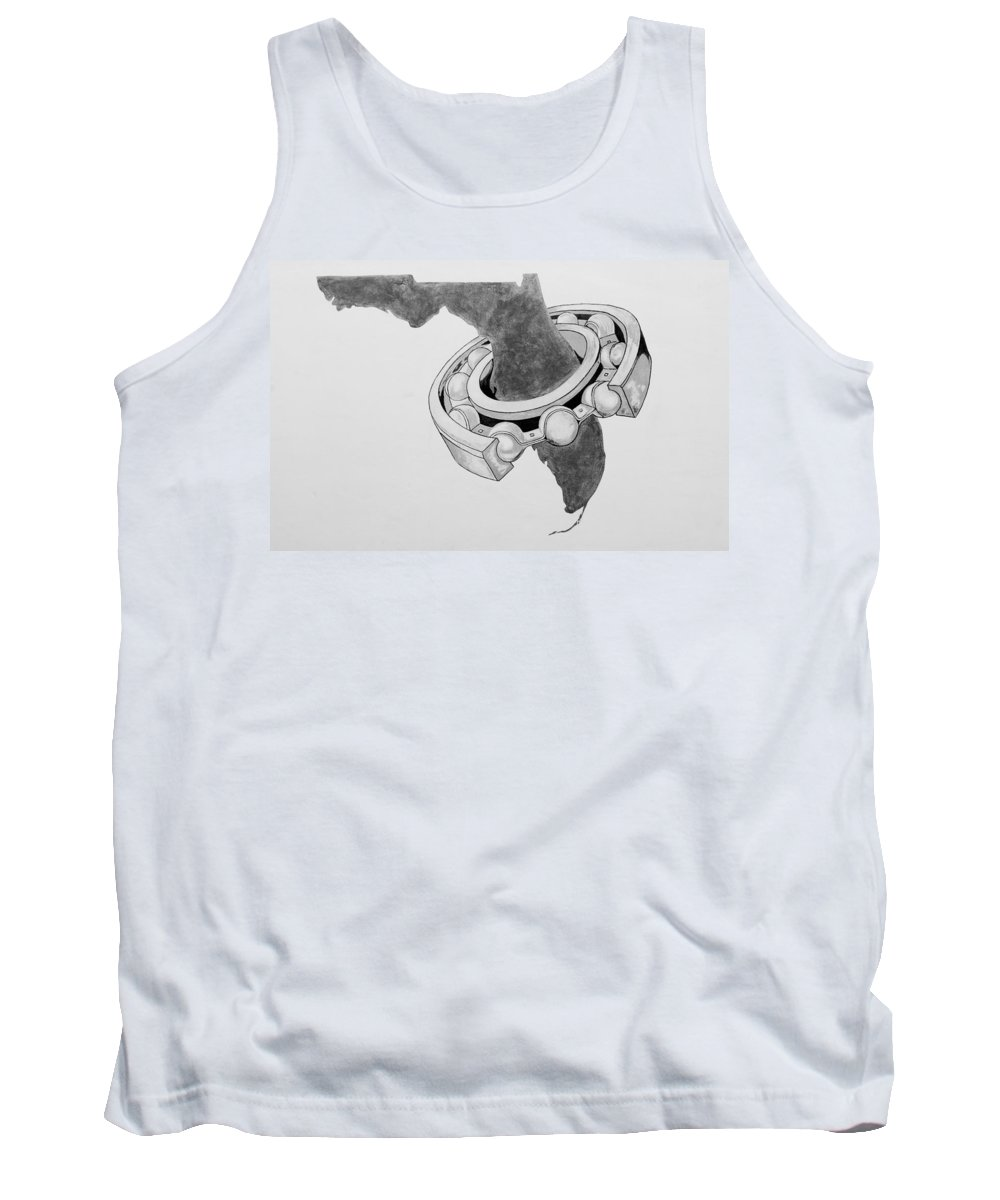 Tank Top featuring the photograph Fla Sprocket O by Rob Hans