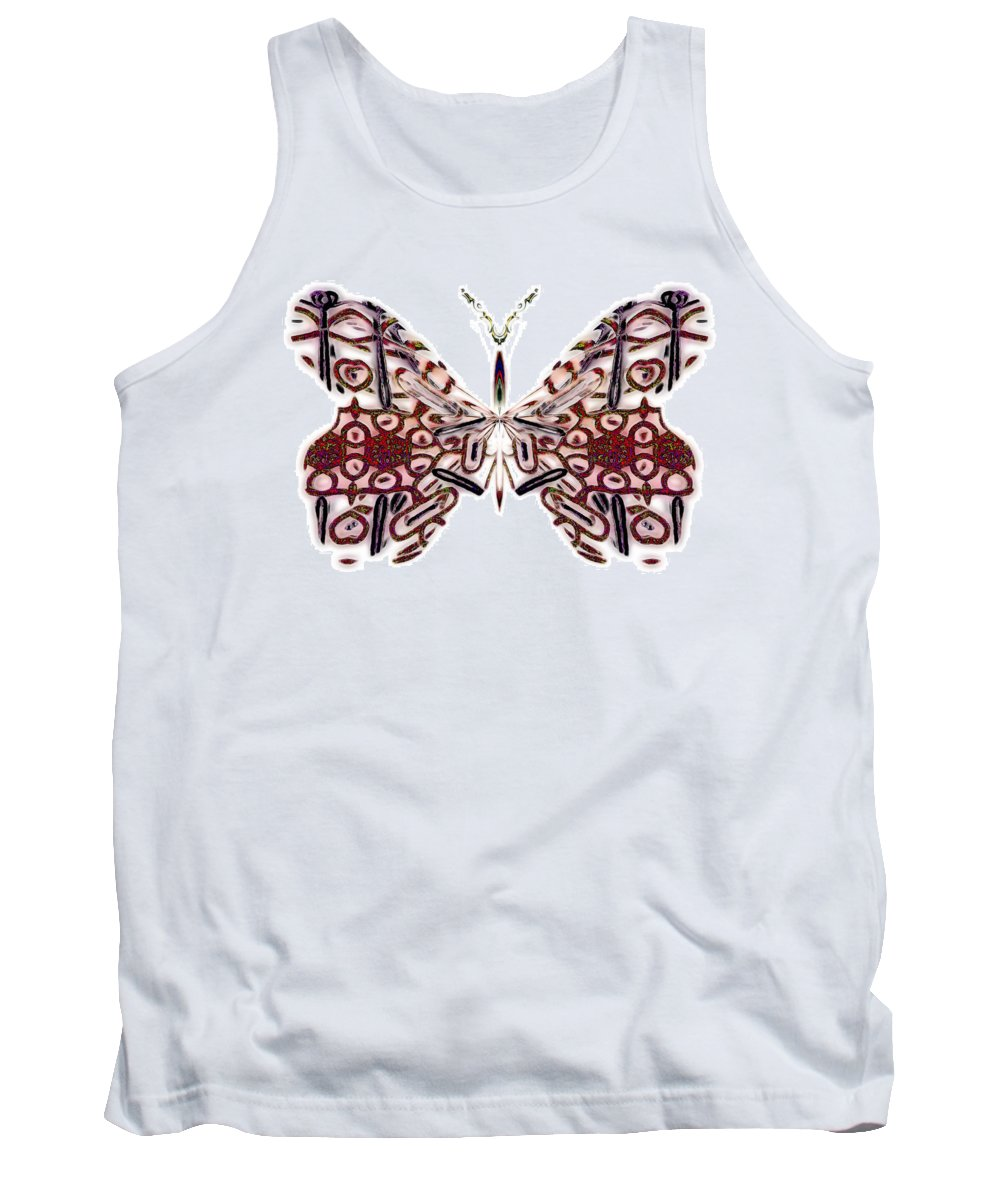 Angel Tank Top featuring the digital art Flora Cloudlight by Raymel Garcia