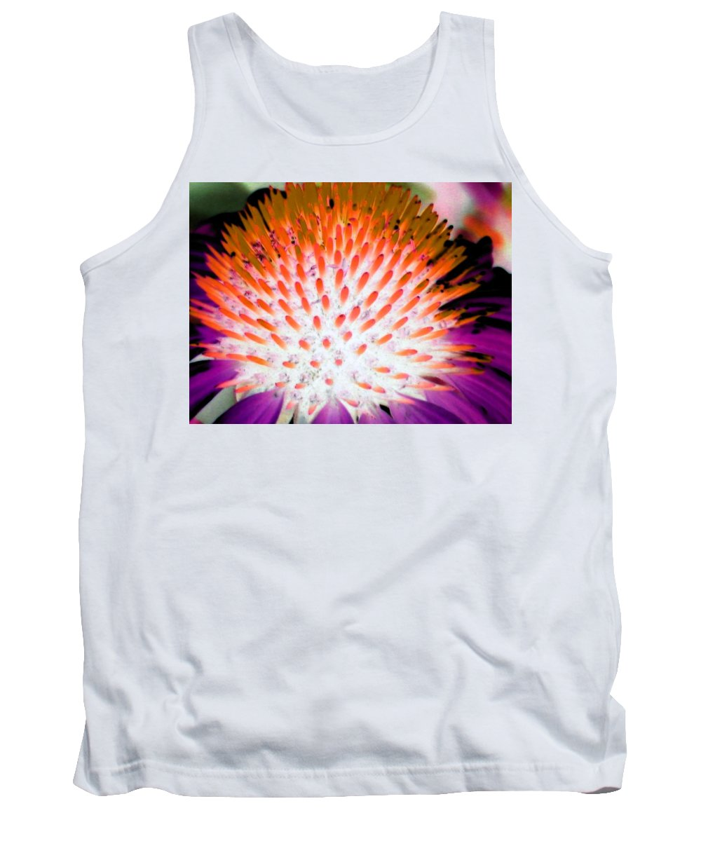 Flower Tank Top featuring the photograph Flower Power 1358 by Pamela Critchlow