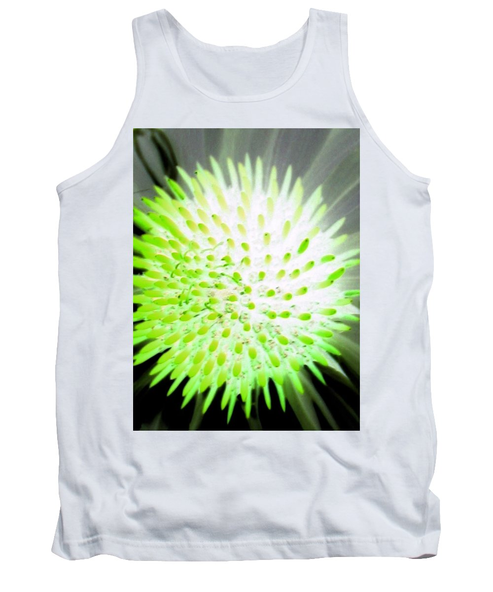 Flower Tank Top featuring the photograph Flower Power 1361 by Pamela Critchlow