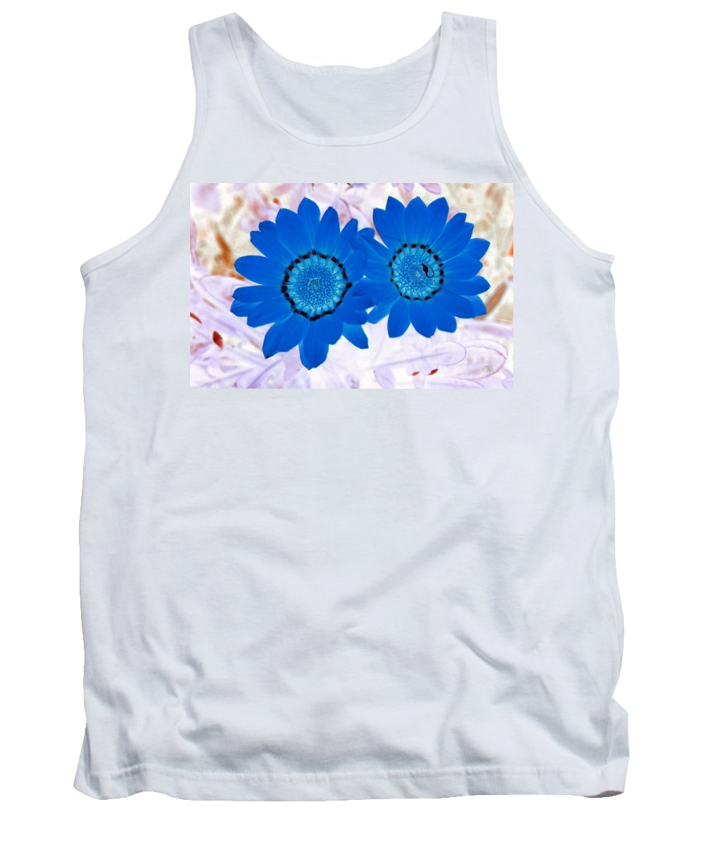 Flower Tank Top featuring the photograph Flower Power 1427 by Pamela Critchlow