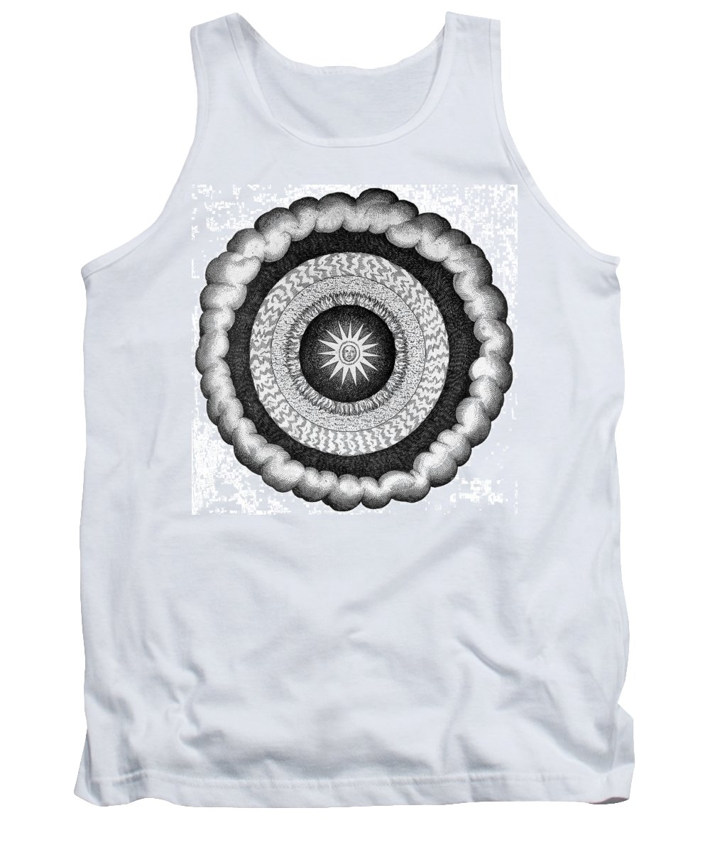History Tank Top featuring the photograph Fludds Cosmic Realms 1617 by Wellcome Images