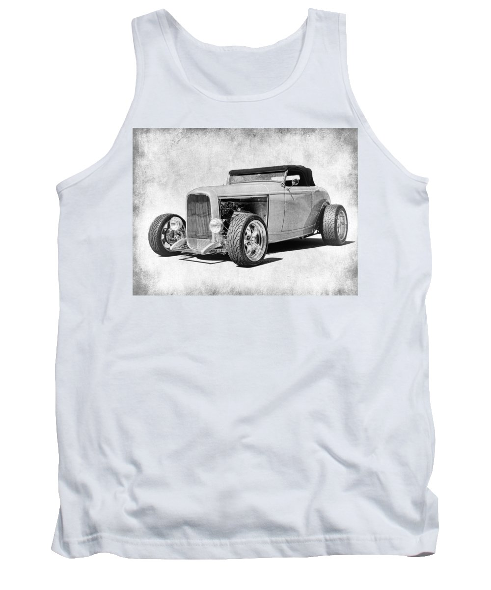 Ford Coupe Tank Top featuring the photograph Ford 32 Roadster by Steve McKinzie
