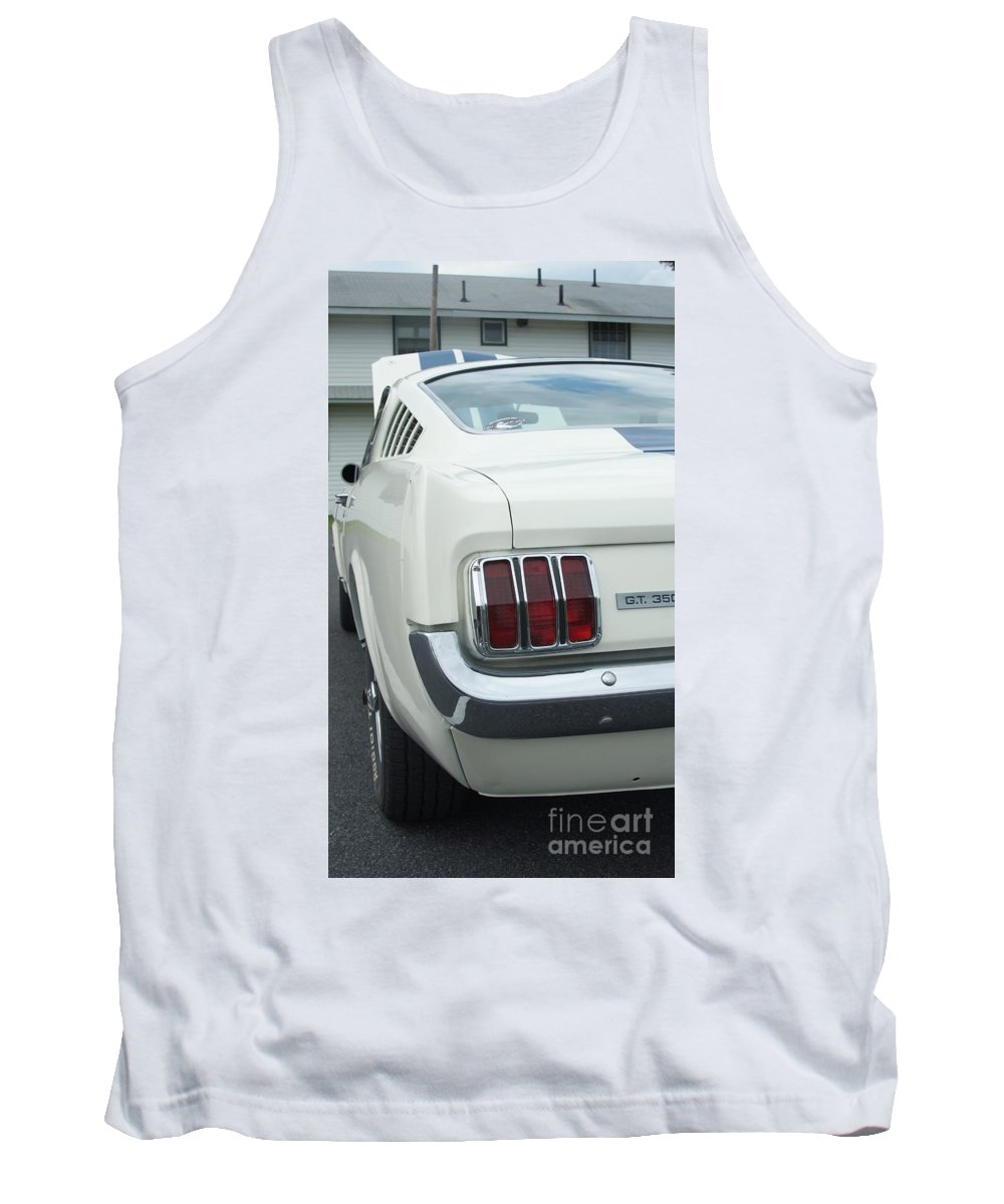 Classic Tank Top featuring the photograph Ford Mustang Gt 350 by Rob Luzier
