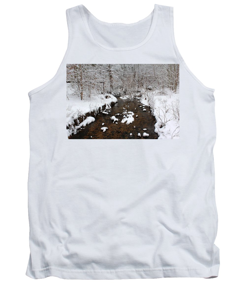 Creek Tank Top featuring the photograph Forest Hill Creek by Gordon Cain