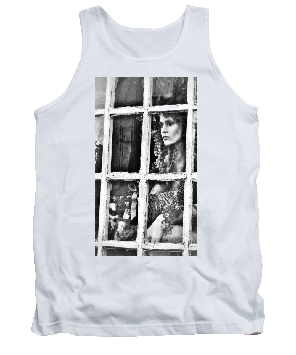 Forlorn Tank Top featuring the photograph Forlorn by Jean Goodwin Brooks