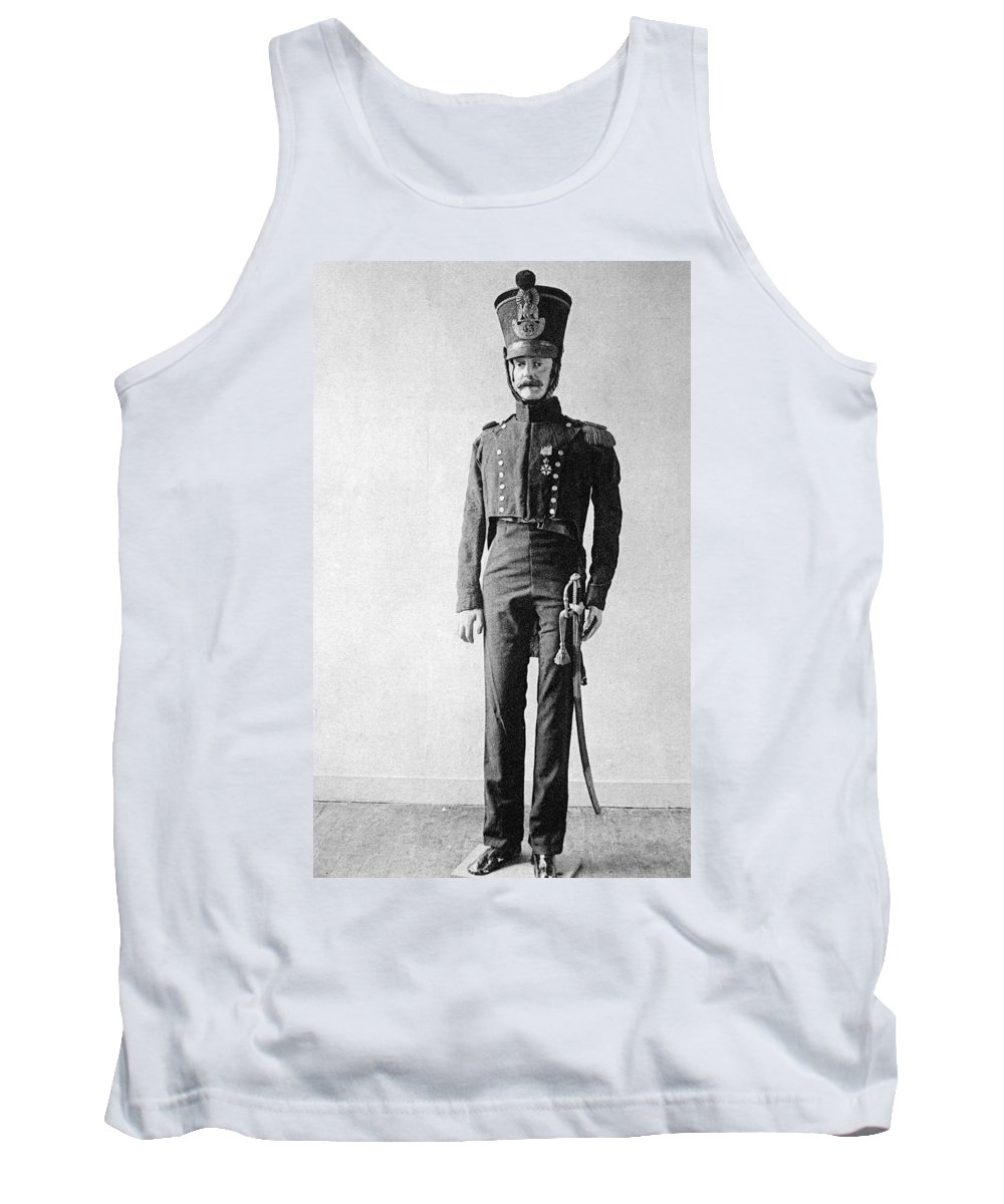 1814 Tank Top featuring the photograph French Officer, 1814 by Granger