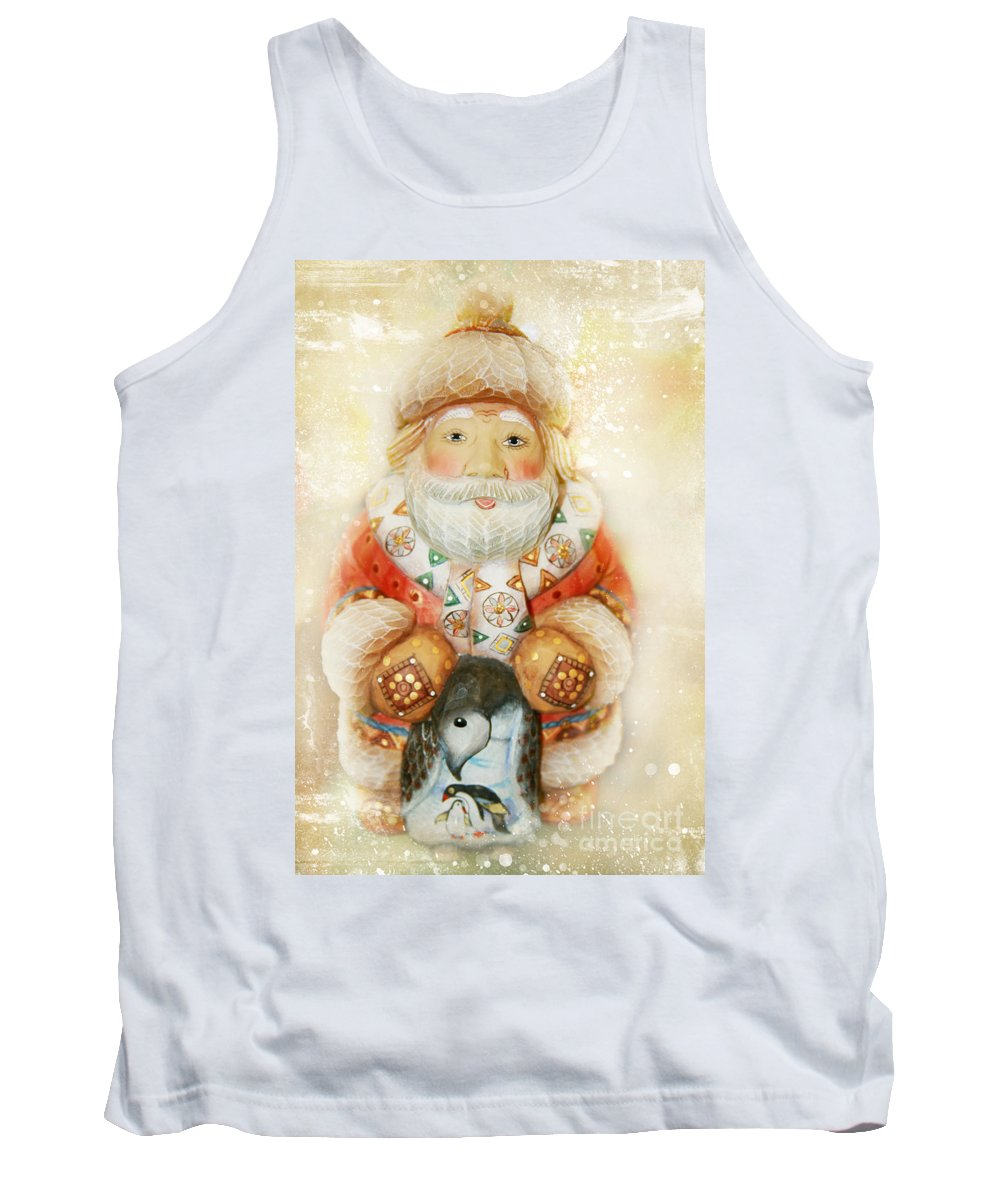 Sharon Mau Tank Top featuring the photograph frohe Weihnachten by Sharon Mau