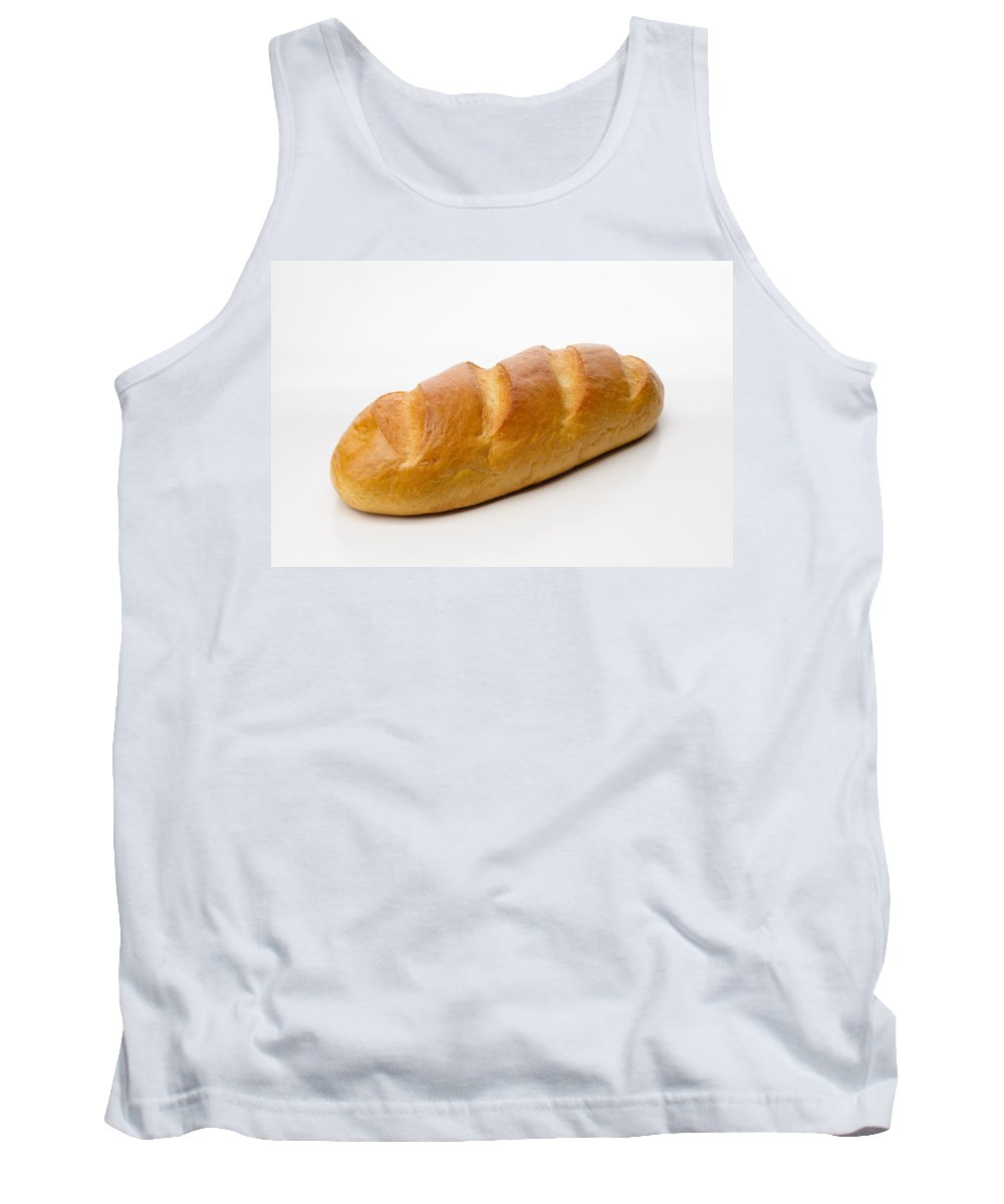 Background Tank Top featuring the photograph Full White Bread by Alain De Maximy