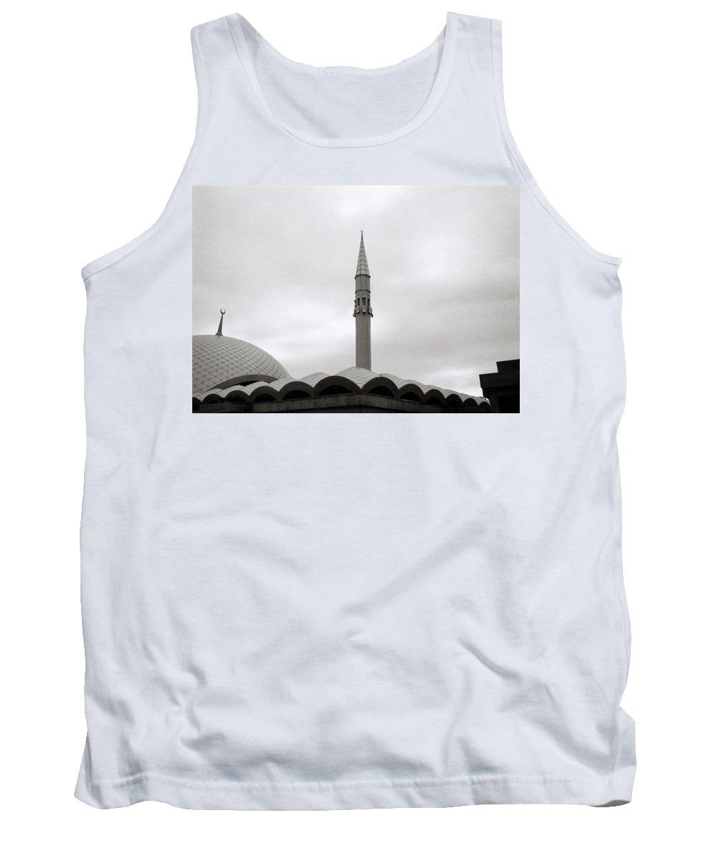 Istanbul Tank Top featuring the photograph Futuristic Islam by Shaun Higson
