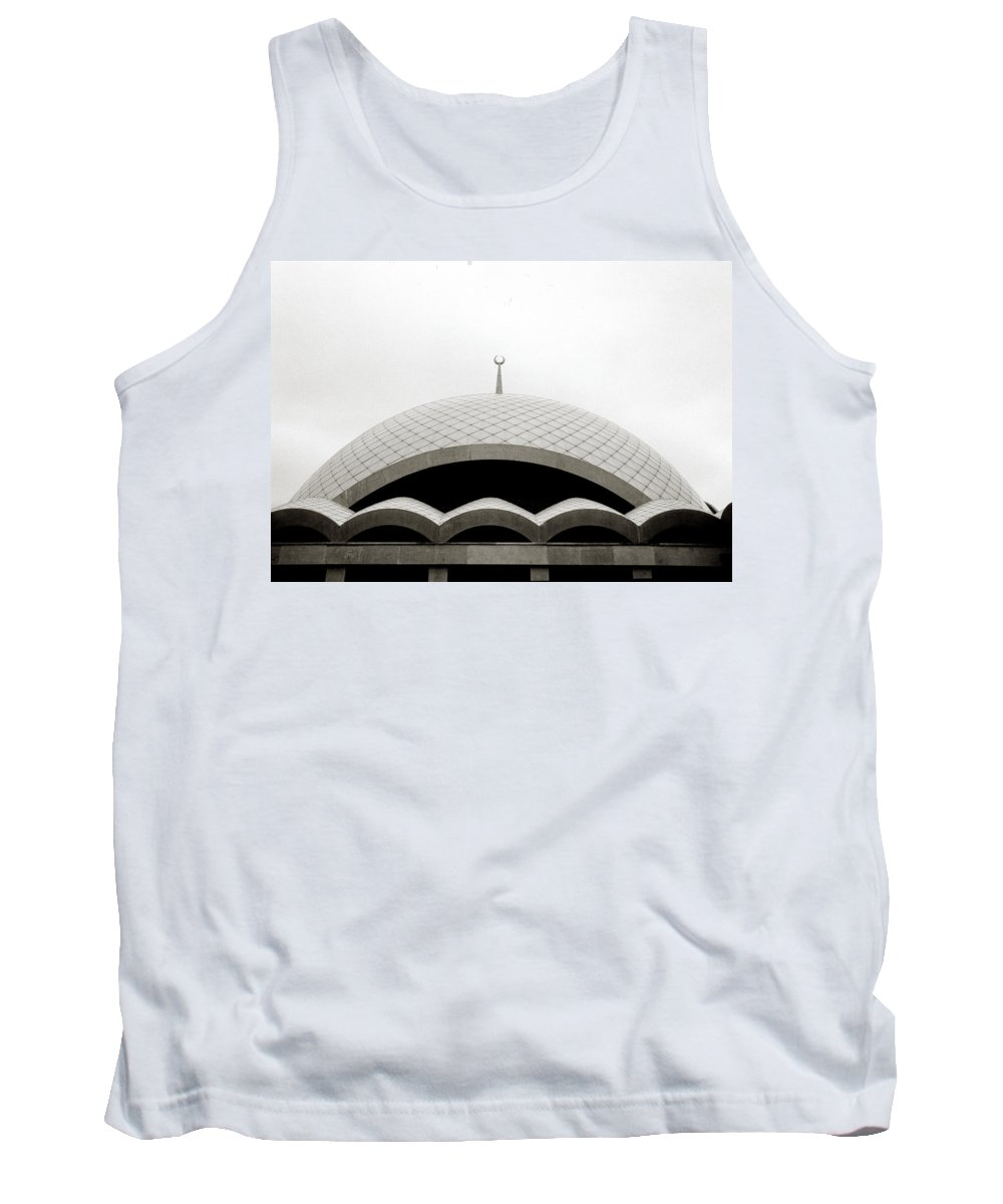 Religion Tank Top featuring the photograph Futuristic Islamic Dome by Shaun Higson