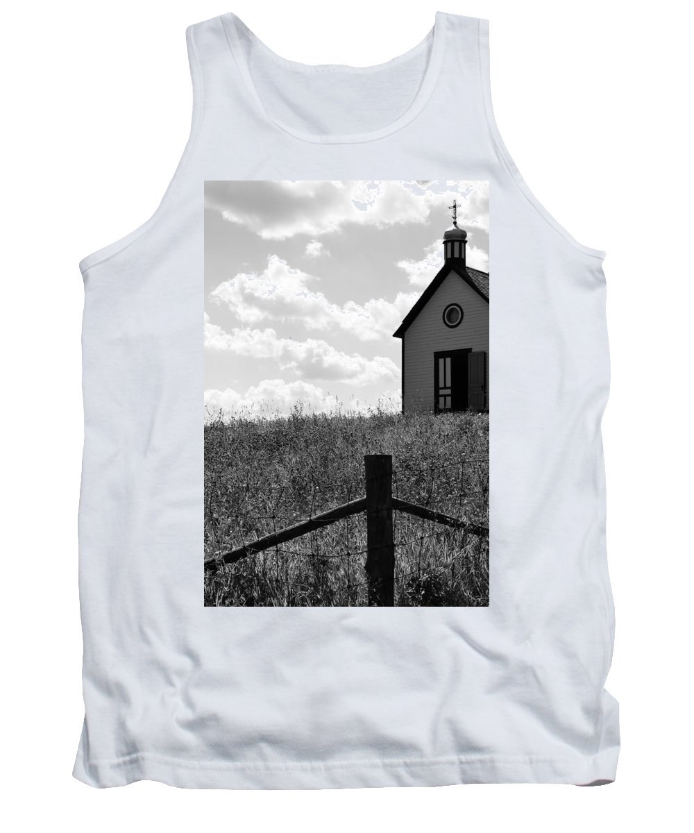 Faith Tank Top featuring the photograph Gate To Faith by The Artist Project