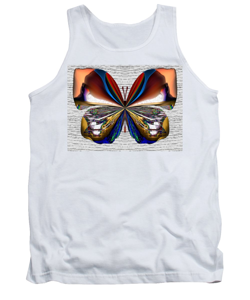 Angel Tank Top featuring the digital art Gem Iceshore by Raymel Garcia
