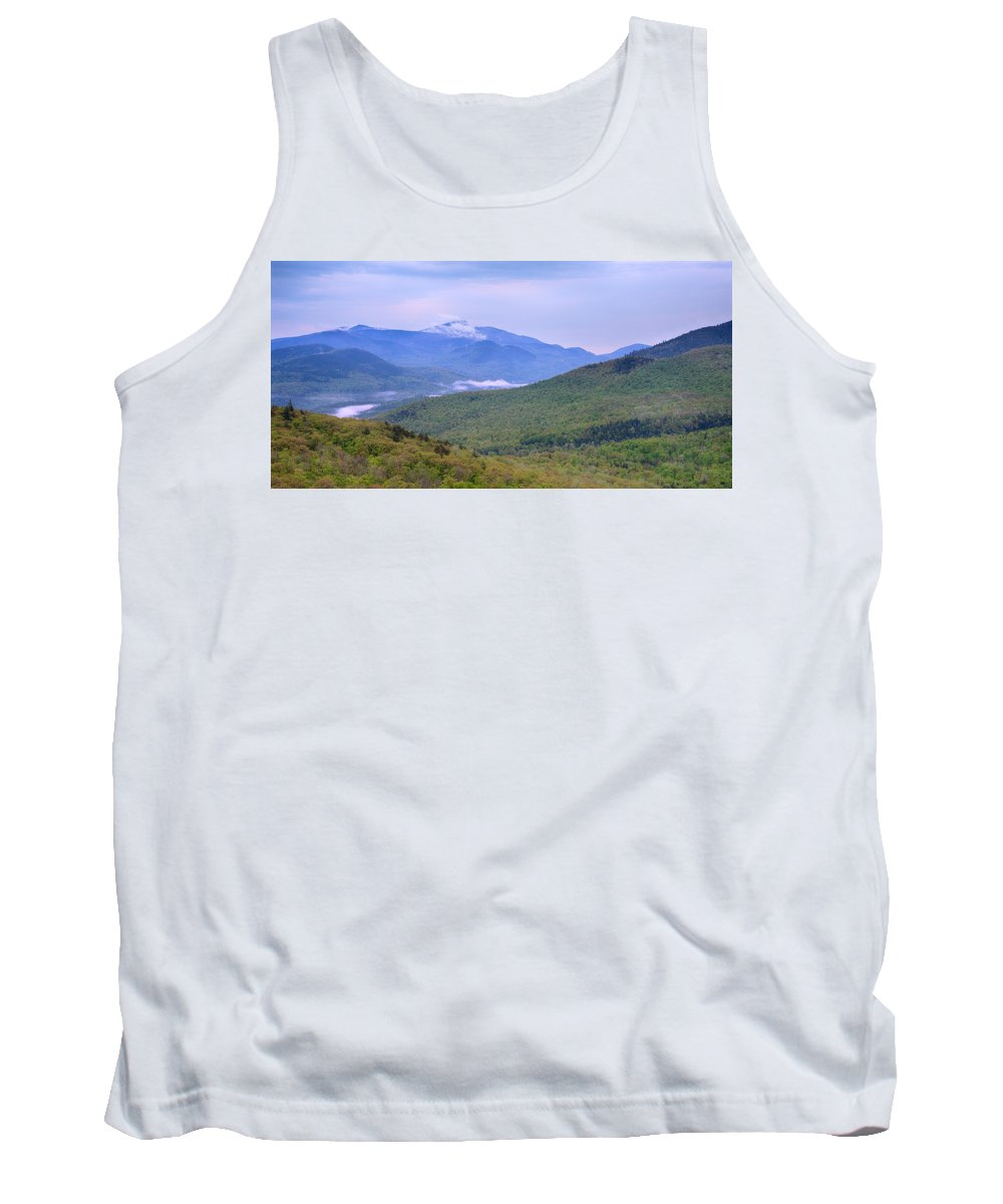 Photography Tank Top featuring the photograph Giant Mountain From Owls Head by Panoramic Images