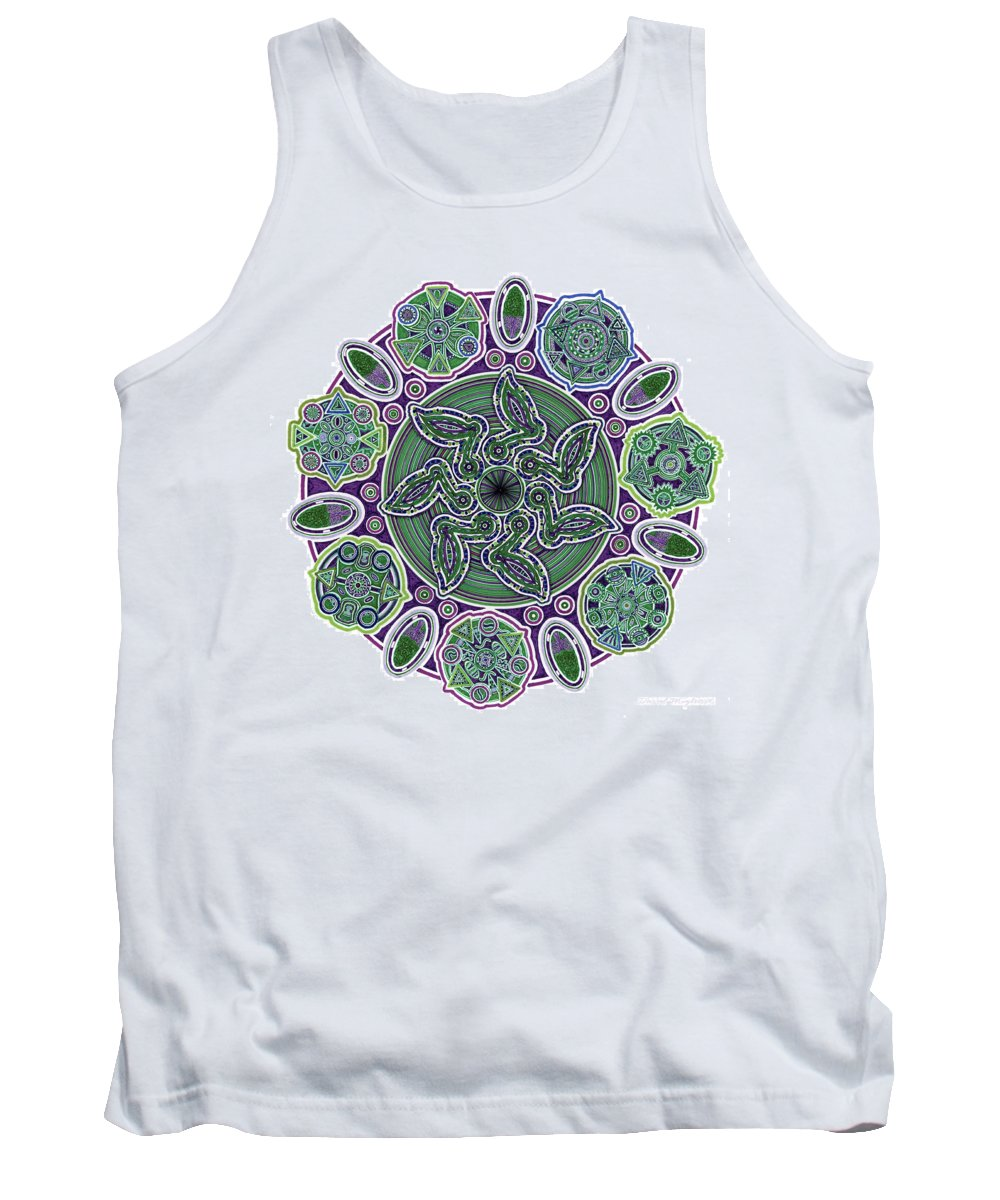 Migliore Tank Top featuring the drawing gpm by Dave Migliore