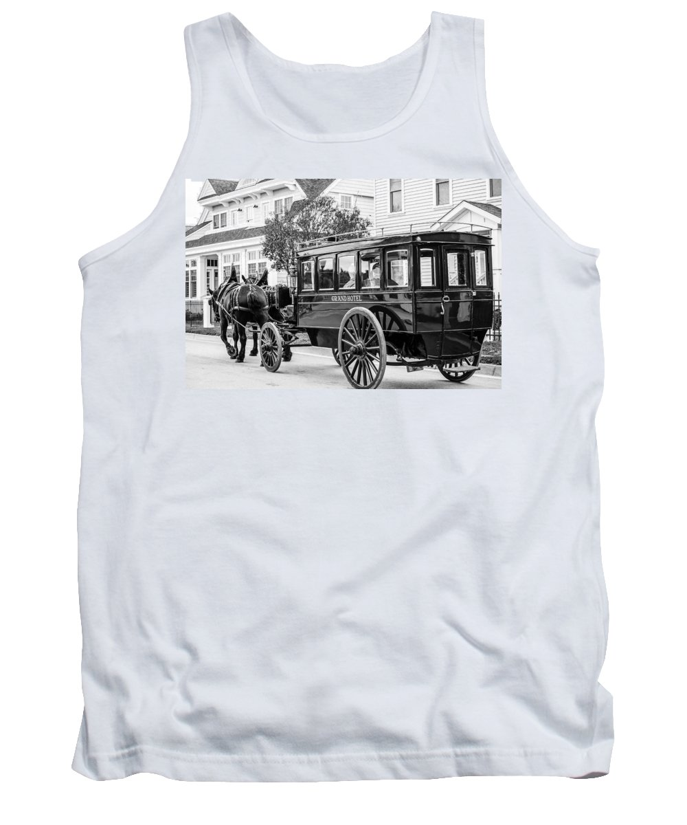 Grand Hotel Tank Top featuring the photograph Grand Entrance by Sheri Bartoszek