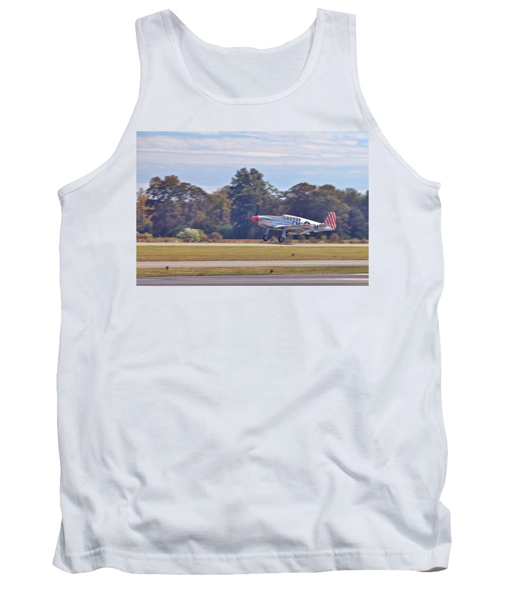 9198 Tank Top featuring the photograph Greaser by Gordon Elwell