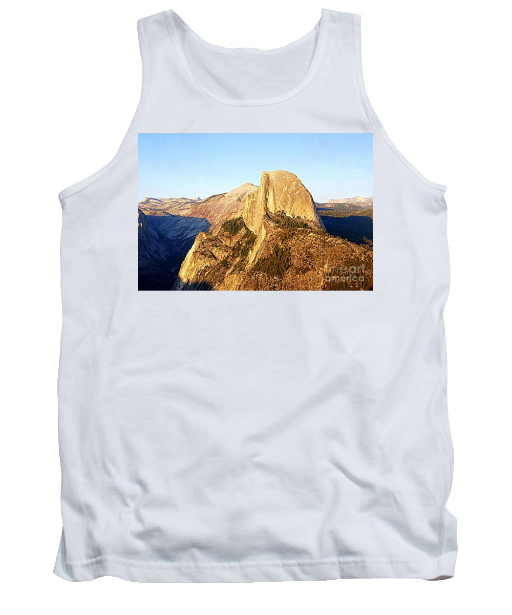 Half Dome Tank Top featuring the photograph Half Dome In Yosemite by Catherine Sherman