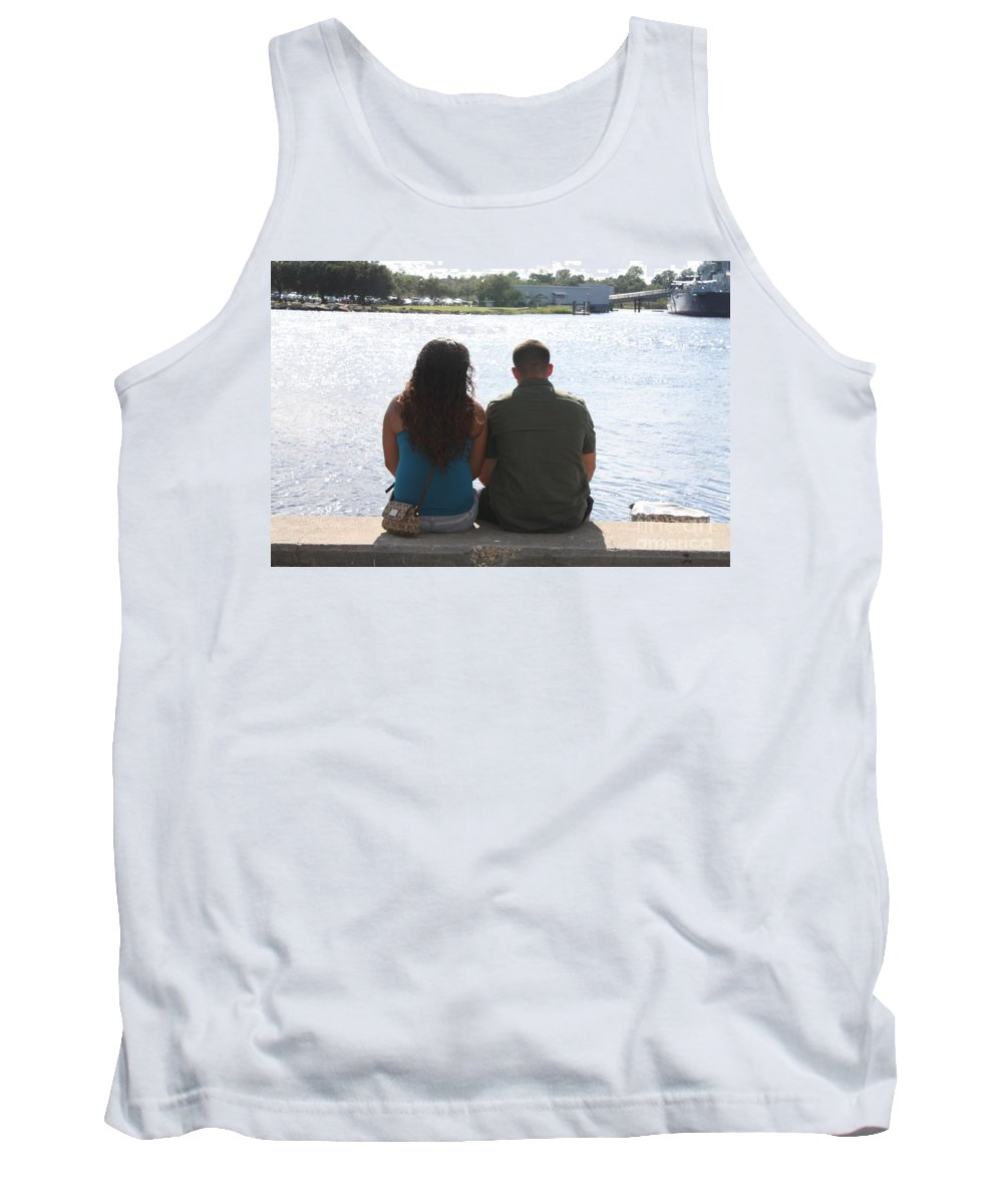 Happy Together Tank Top featuring the photograph Happy Together by John Telfer