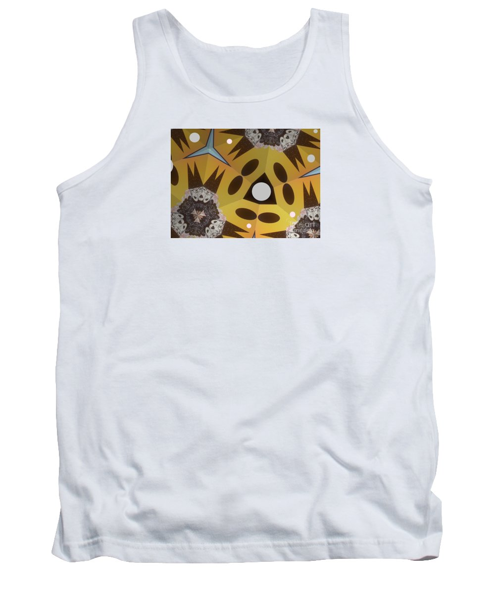 Hats Tank Top featuring the mixed media Hat's To Grandma by Ann Calvo