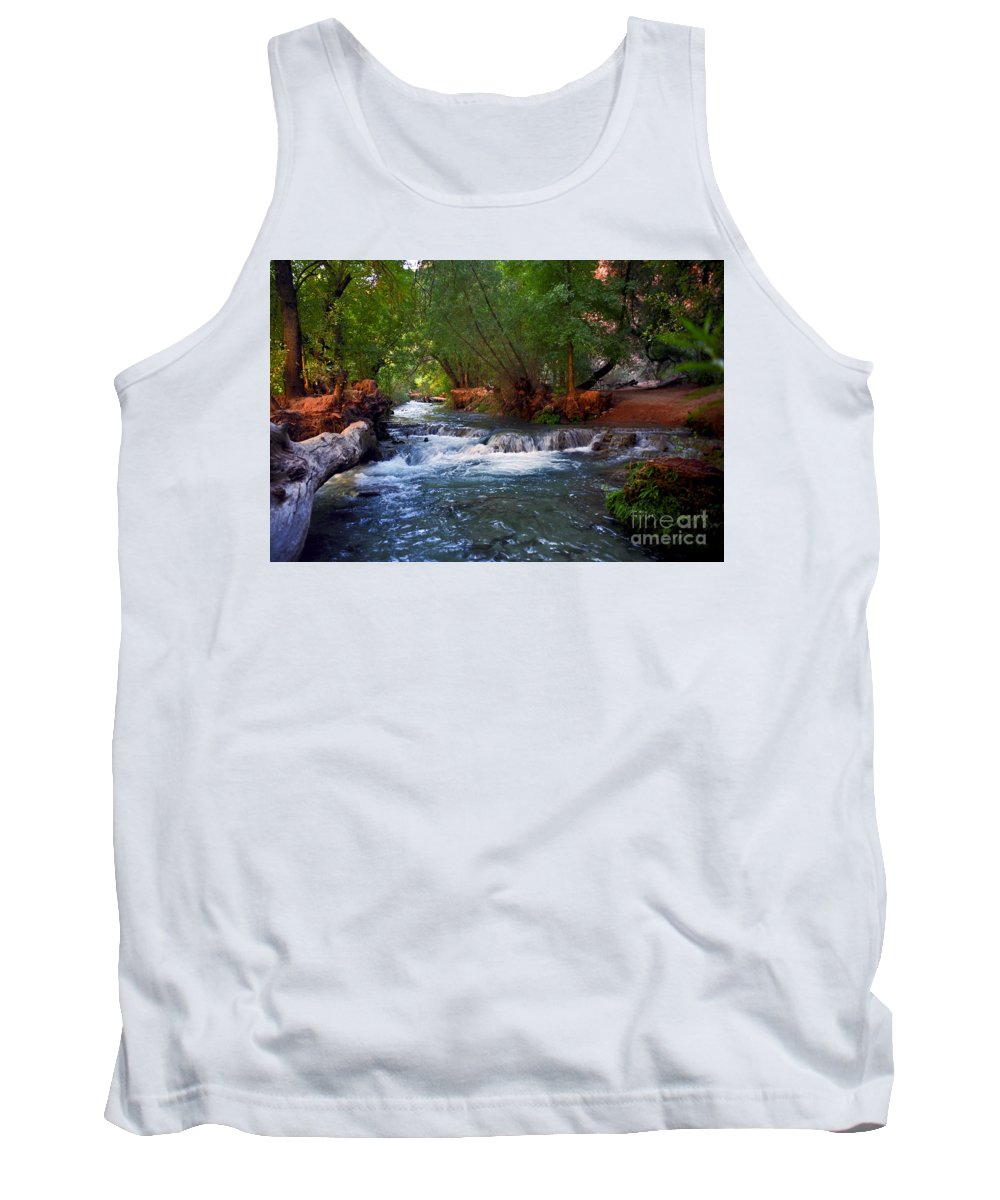 Arizona Tank Top featuring the photograph Havasu Creek by Kathy McClure